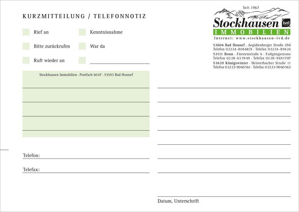 Stock_Immo_Kurznotiz