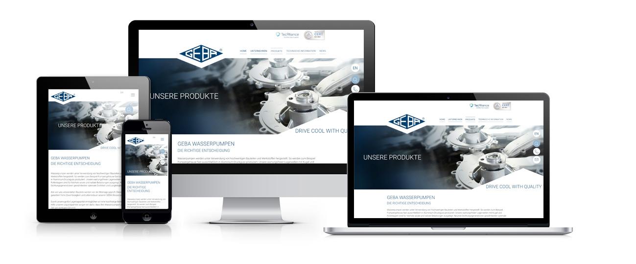 Webseite-GEBA-Autoteile-Wasserpumpen