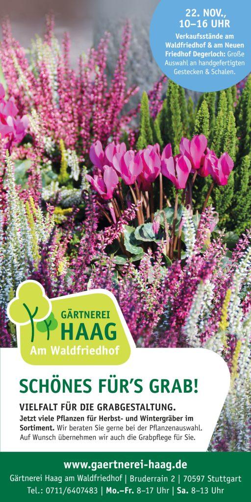 Anzeige-Haag